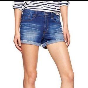 Gap slim cut-offs shorts